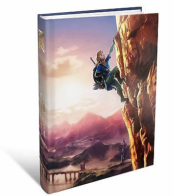 GUIA The Legend Of Zelda Breath Of The Wild EDICION COLECCIONISTA ESPAÑOL NUEVO