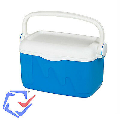 Curver Cool Box 10L Portable Refrigerator Blue 10 ltr coolbox with 2x 400 g Ice