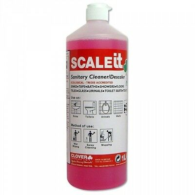 Clover Scale IT Sanitary Cleaner & Descaler (1ltr), Limescale