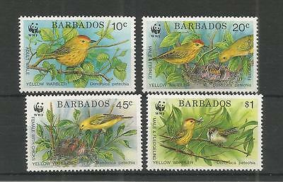 Barbados 1991 Endangered Species Sg,948-951 Um/m Nh Lot 3072A