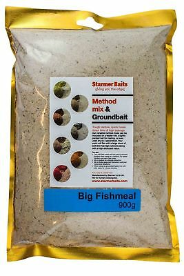 Big fishmeal method mix & ground bait for carp and coarse fishing