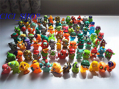 10pcs RANDOM Zomlings Monster Zombie Figures Kids Toys - All Different