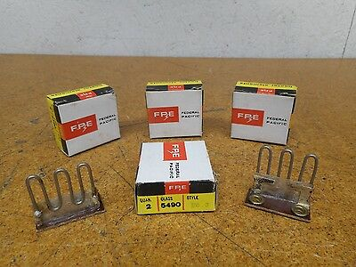 Federal Pacific FPE 5490 Style F6.3 Overload Heater Elements New (Lot of 8)