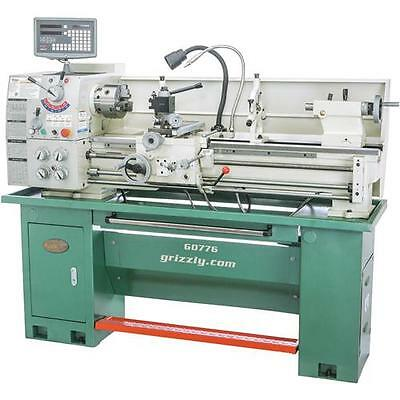 """G0776 Grizzly 13"""" x 40"""" Gunsmithing Lathe with DRO"""
