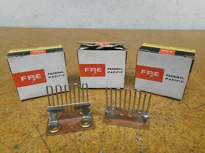Federal Pacific FPE 5490 Style F3.55 Overload Heater Elements New (Lot of 8)
