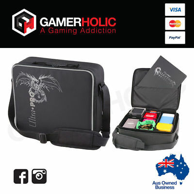 Ultra Pro Deluxe Gaming Bag Carry Case Black Dragon Case Black Brand New