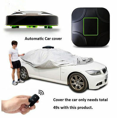 Automatic Car Cover Outdoor Resistant Dust Protection Waterproof for Porsche
