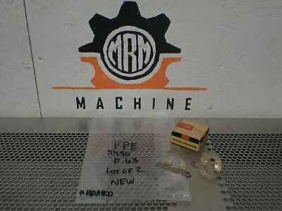 FPE Federal Pacific 5490 Style F.63 Overload Heater Elements (2) New In Box