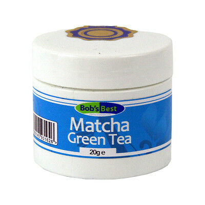 Matcha Green Tea - 20g - Herbal Remedies from Bob's Best Natural Health Range