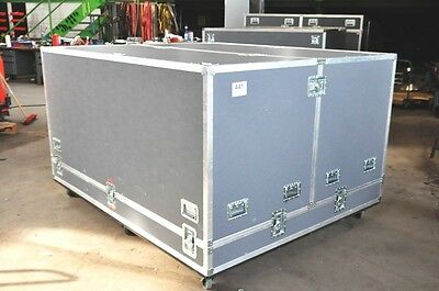 Transport-Case, Flightcase, Marke Mountaine-Case, lxblxh (ca. 213x173x113 cm)