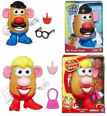 Playskool Hasbro Mrs and Mr Potato Head Preschool Learning Girls Boys Toy