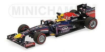 Red Bull Rb9 Sebastian Vettel Winner Bahrein Gp World Champion F1 2013 1:43
