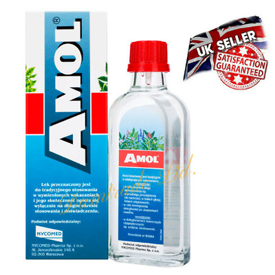 Amol 250ml. UK-STOCK.Mult purpose liquid flu and cold treatment.Natural herb.