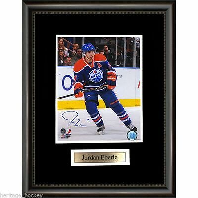 Jordan Eberle Signed Edmonton Oilers Framed Photo