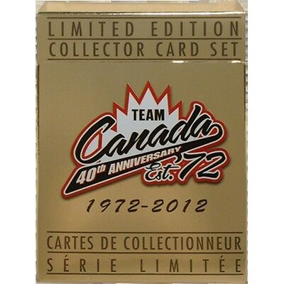 Team Canada 1972 Card Set 40th Anniversary
