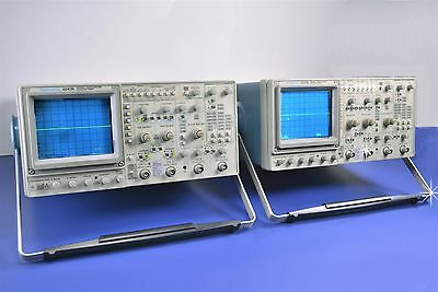 2 (Two) TekTronix 4-Channel 2247A 100MHz Oscilloscopes w/ Counter/Timers