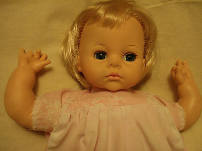 vtge big baby doll GoodTime Toys CANADA  Blond / Blue sleep-eyes Comfort Therapy