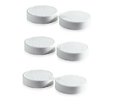 SIX DESCALING DESCALER TABLETS for TASSIMO DOLCE GUSTO NESPRESSO COFFEE MACHINES