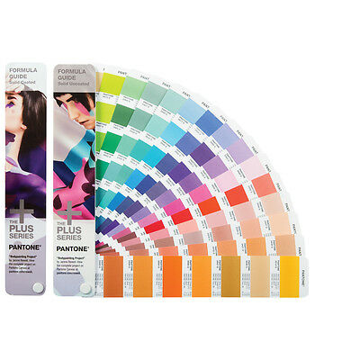 Pantone 2018 GP1601N Formula Guide Solid Coated & Uncoated (Replaces GP1501)