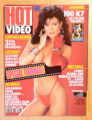 Hot Video N° 27 / French Magazine Revue Erotic / Jeanna Fine , Raven , Darrian