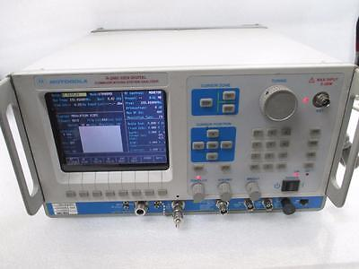Motorola General Dynamics R2660D iDEN Digital Communications System Analyzer