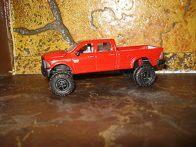 1/64 CUSTOM DODGE CUMMINS TRUCK W/LIFT Farm Toy Ertl DCP #R10