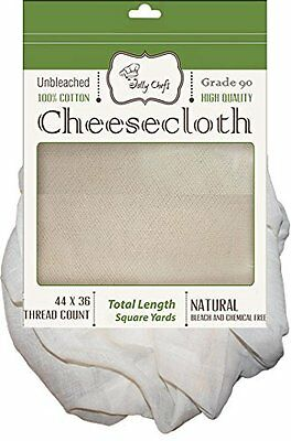 Cheesecloth Unbleached 36 Sq Ft Food Grade 90 HIGHEST Butter Muslin Quality for