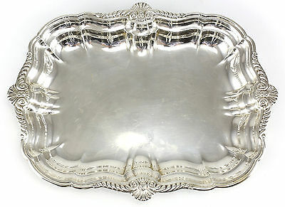 "International Silver Company Sterling Rectangular Tray 12.25"" #H182, c1950 22toz"