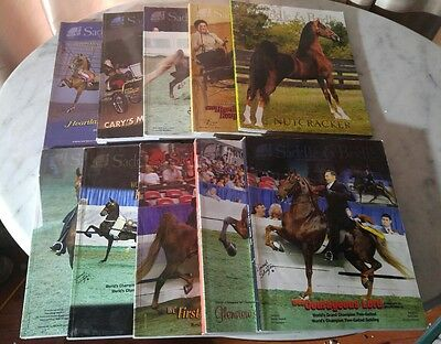 Saddle & Bridle Magazine 10 Issue Mixed Lot 2005 - 2013