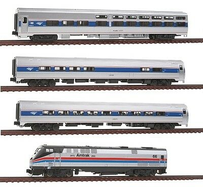 N Gauge - Kato Train set P42 Amtrak + 3 Wagen - 106-62862 NEU