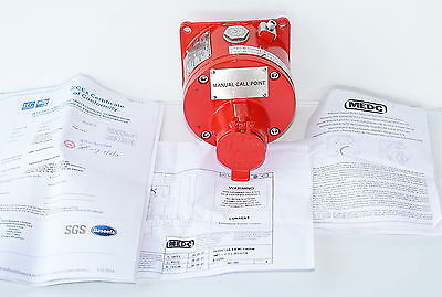 MEDC SM87-PBMD Manual Call Point Fire Alarm