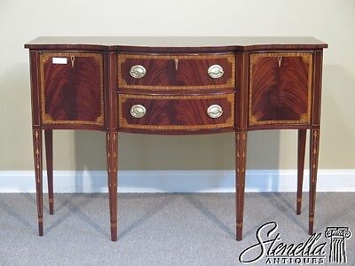 L41438E: COUNCILL CRAFTSMEN Inlaid Mahogany Federal Sideboard
