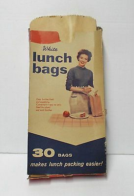 Vintage Tidy Home Packing Lunch Bags - Advertising - Original Box