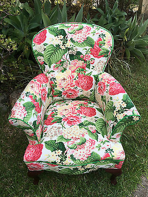 Antique lady's chair - fully refurbished