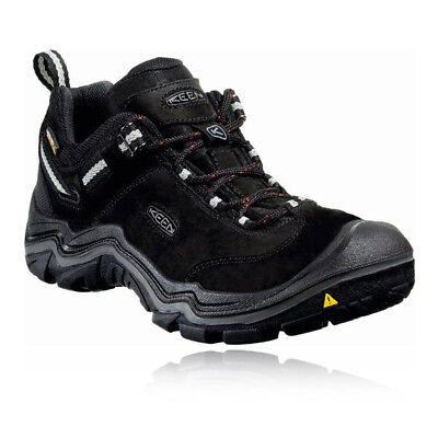 Keen Wanderer Mid Mens Black Waterproof Outdoors Walking Hiking Shoes