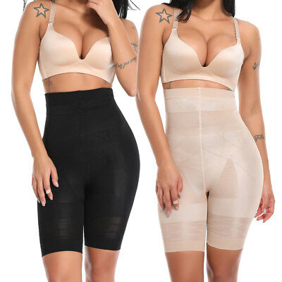 Women's Tummy Control Shaper Girdle Pants High Waist Shorts Slim body Lift shape