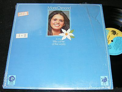 MARIE OSMOND In My Little Corner Of The World MGM In Shrinkwrap 1974 Country Pop