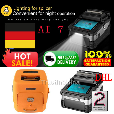 Optical Fiber Fusion Splicer Automatic Focus Function Signal Fire AI-7 Intellige