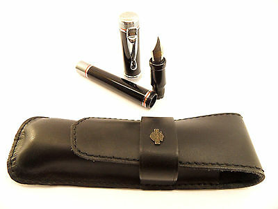 NEW Harley Davidson Fountain Pen with leather case