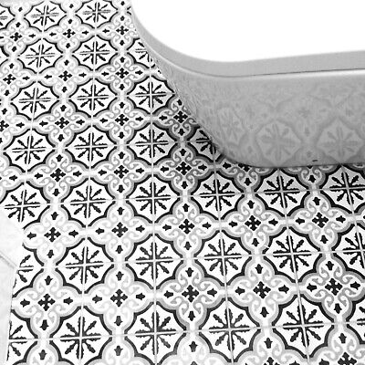 Moroccan Encaustic cement tiles NOT ink jet printed! Environmently friendly