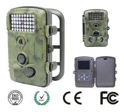 12MP 1080P Full HD Hunting Game Trail Camera 940nm Infrared 20m Night Vision
