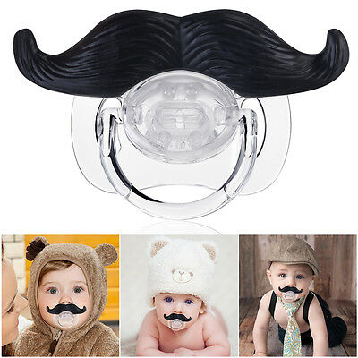 Funny Moustache Style Baby Infant Pacifier Soother Teether Orthodontic Nipple