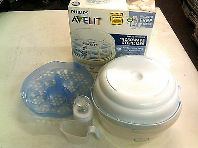 Avent Microwave Steriliser, Boxed, In Good Condition, Trusted Ebay Shop