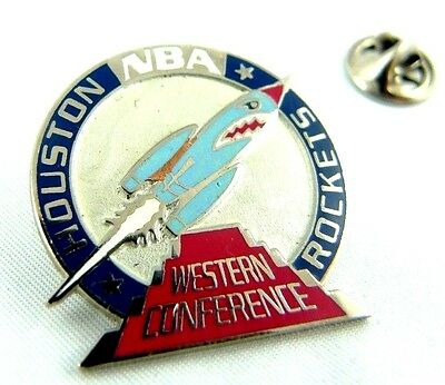 Pin's NBA Basketball Western Conference Houston Rockets Sport US 10 000 Exp