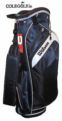 Wilson Profile Cart Golf Bag - Black
