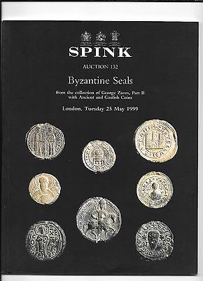 SPINK BYZANTINE SEALS From George Zacos collection Part II -  London, 1999 #132