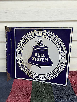 Original Chesapeake and Potomac Telephone Co. Bell System DSP Flange