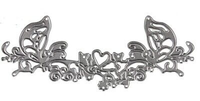 Craft-House 'Delicate Butterfly Heart' Cutting Die CHD24
