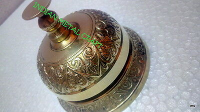 Classic Service Call Bell Office Desk Reception Ringer Hotel Bar Counter Bell