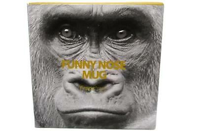 Francfranc Funny Nose Mug Gorilla Monkey Coffee Tea Mug Cup IN Box